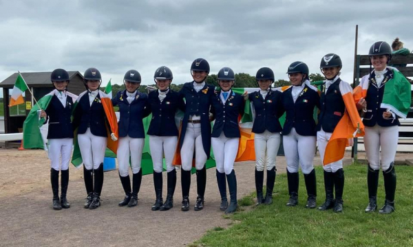SUPERB RESULTS FOR TEAM IRELAND AT THE BD YOUTH HOME INTERNATIONAL