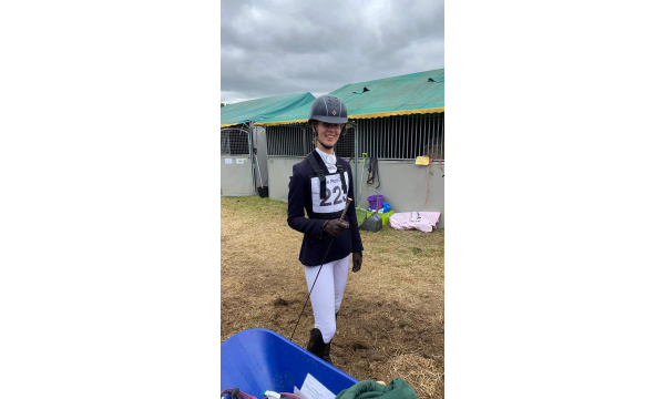 Holly Donnan wins for Iveagh & Youth Dressage.